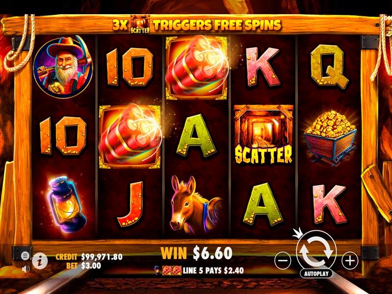 Gold Rush Slot Machine Demo